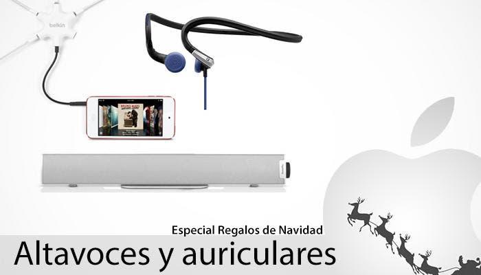 Auriculares y Altavoces para iOS y Mac