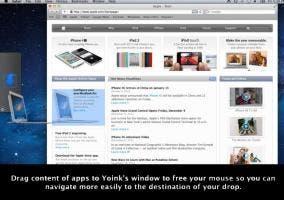 Yoink, la aplicación para gestionar mejor tu Finder