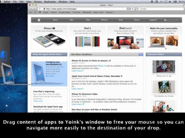 Yoink, una herramienta tremendamente útil para nuestro Finder