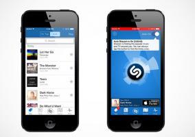 Novedades en iOS 8 de Shazam