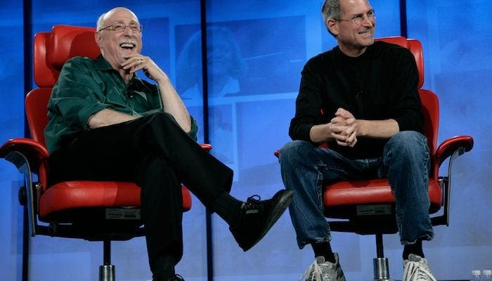 Conferencia All Things Digital D5 Walt Mossberg con Steve Jobs