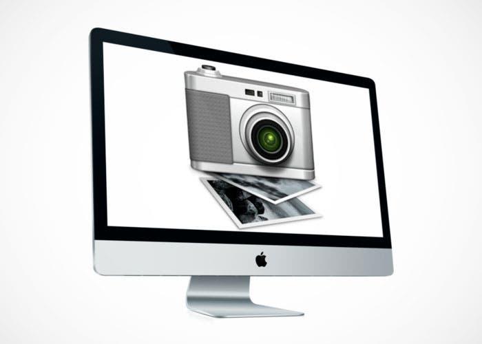 Captura de imagen en iMac