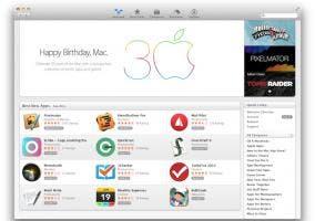30 aniversario Mac celebración Mac App Store