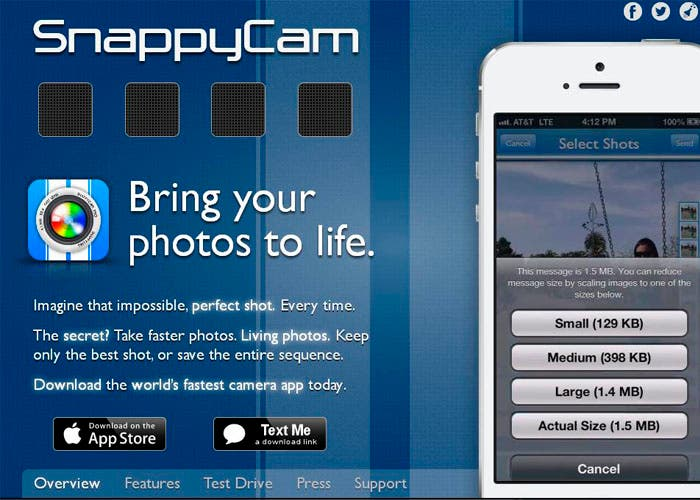 Bring your photos to life, SnappyLabs