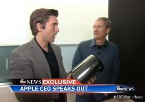 Entrevista 30 aniversario Tim Cook cadena ABC