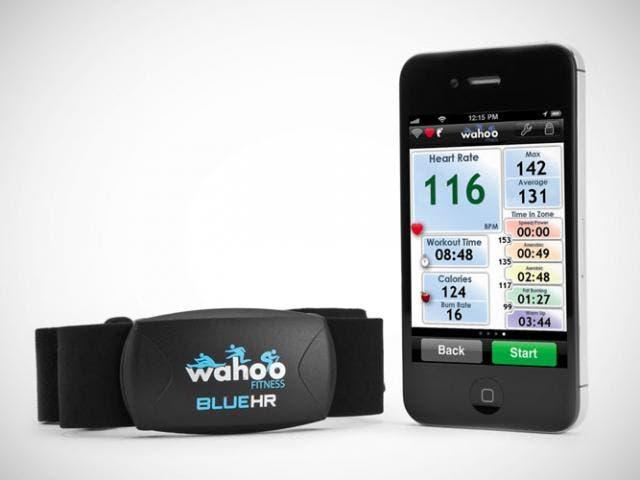Wahoo Fitness Blue HR, un pulsómetro cardíaco para el iPhone