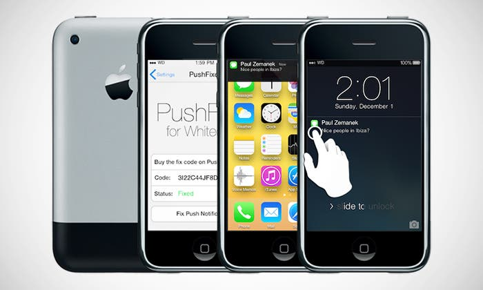 Whited00r lleva iOS 7 a iDevices antiguos