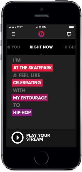 Lanzamiento de Beats Music para iOS