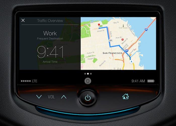 iOS en el coche Mapas