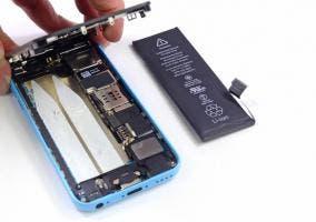 Pantalla del iPhone 5c