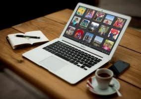 MacBook funcionando con iPhoto