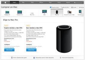Mac Pro en la Apple Store española