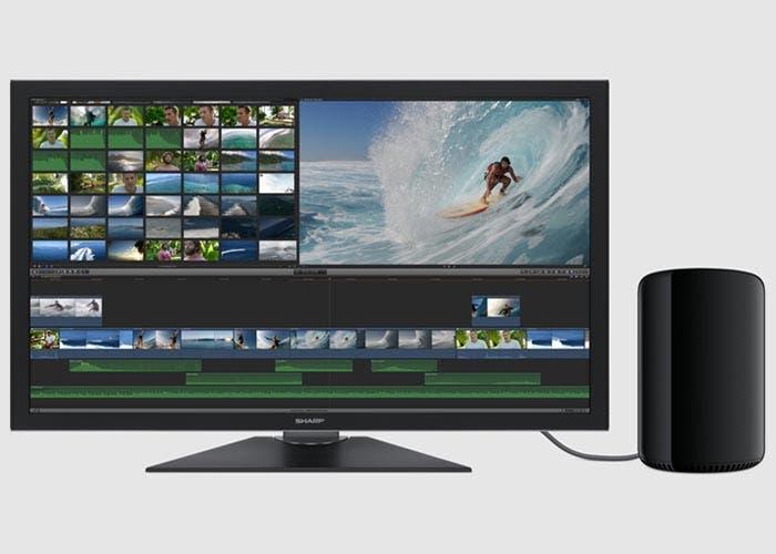Mac Pro con un monitor 4K