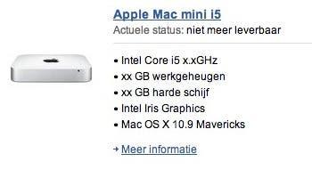 Futura nueva Mac mini