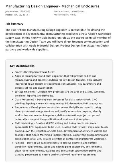 Oferta de Ingeniero de diseño