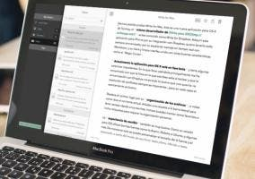Aplicación para tomar notas y escribir en OS X