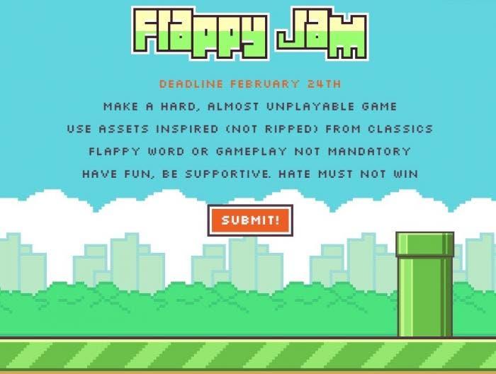 Jam de Flappy Bird