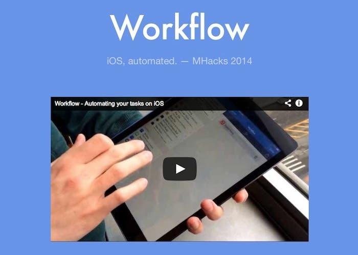 Presentación de Workflow