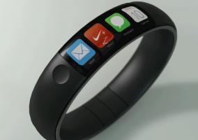 iWatch concept fuel band