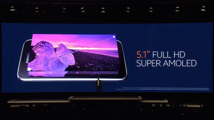 Evento Samsung Unpacked5, pantalla
