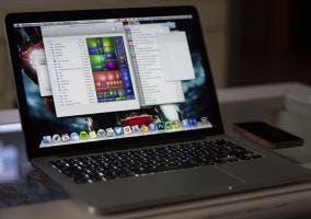 Macbook Pro Retina con Disk Inventory
