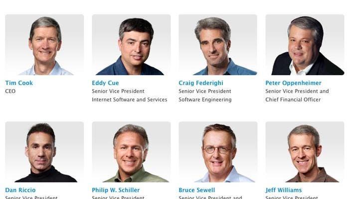Jony Ive desaparece de la lista de ejecutivos de Apple