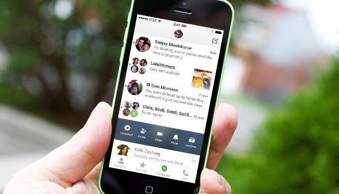 Nueva actualización de Hangouts para iOS