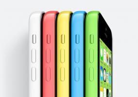 iPhone 5c gama colores