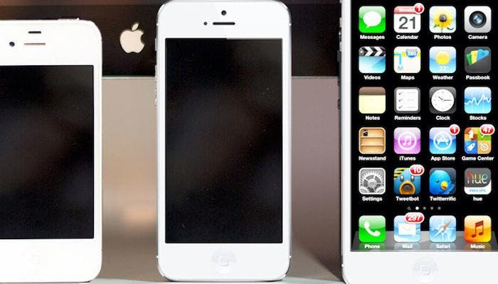iPhone 5 pulgadas