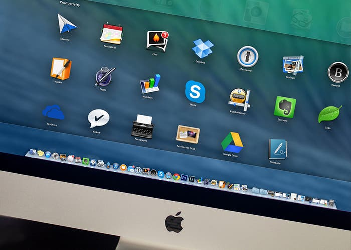 Launchpad en OS X Mavericks