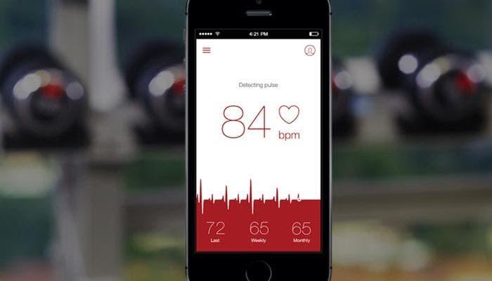 Aplicaciones para medir el pulso sanguíneo en nuestro iPhone