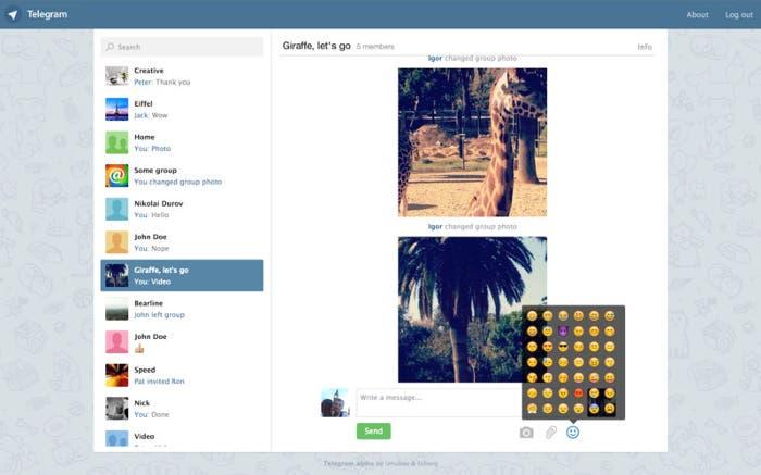 Cliente de Telegram para OS X