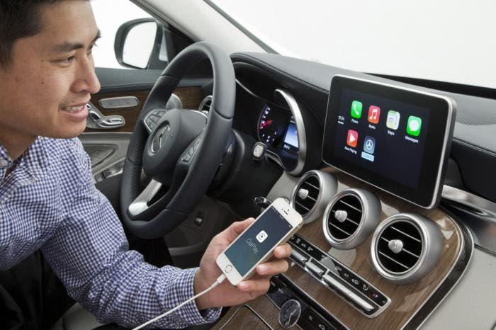 CarPlay Mercedes Clase C