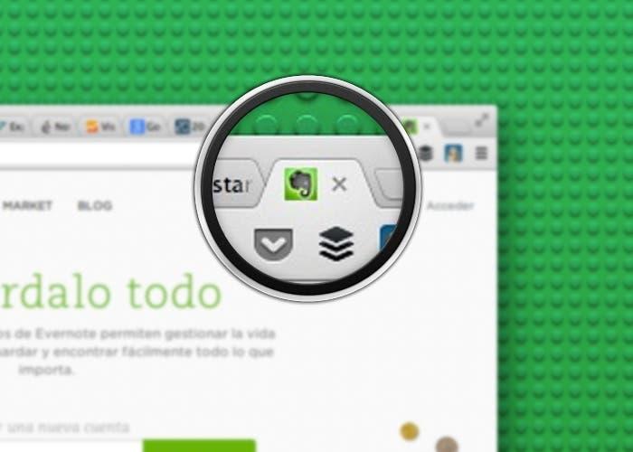 Como exportar pestañas de Chrome a Evernote