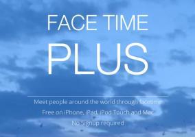 Presentación de FaceTime Plus