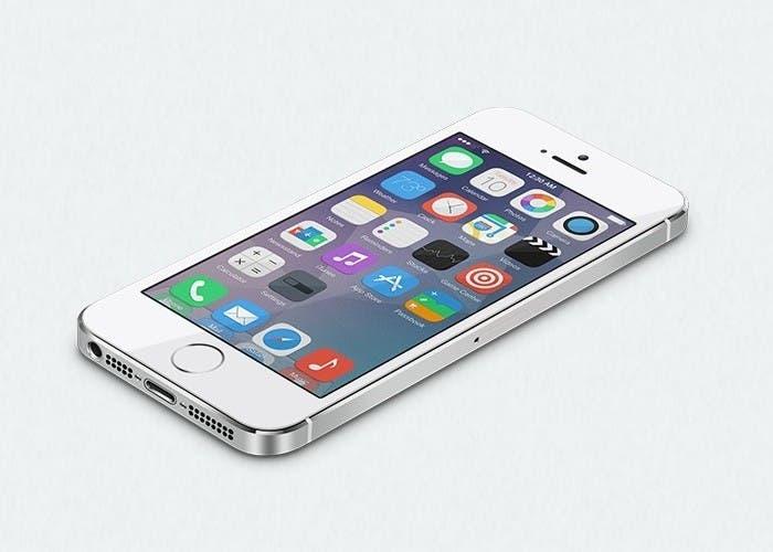 concepto iOS 8 iPhone