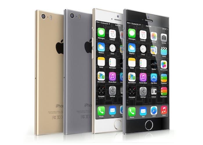 iPhone 6 mockup iPod nano perspectiva