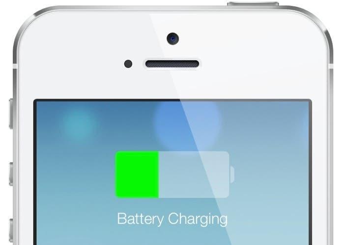 iPhone batería iOS 7