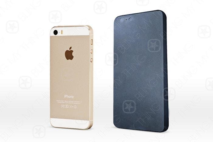 Maqueta del iPhone 6 vista por detrás