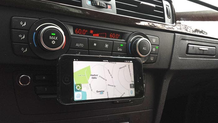 Mapas en el coche