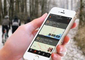 Nueva aplicación de Strava para iPhone