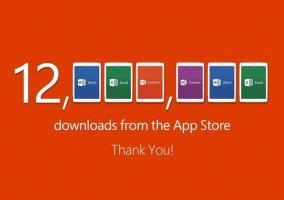 12 millones de descargas de Office en la App Store