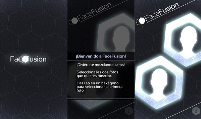 Inicio de la aplicación FaceFusion