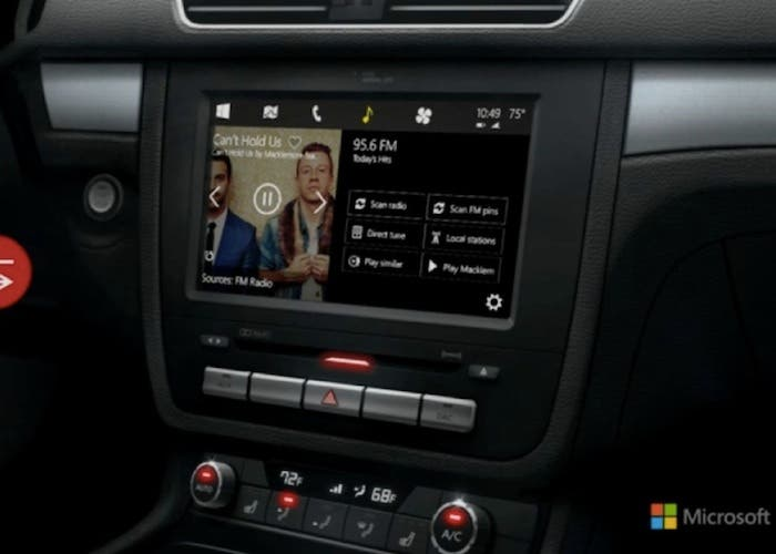 Alternativa Microsoft CarPlay