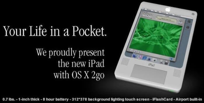 Concept iPad 2004