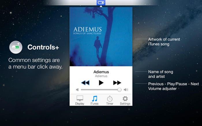 Música en Controls+