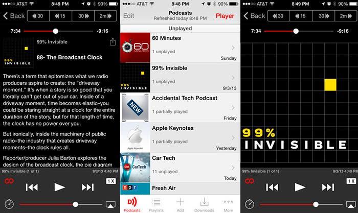 Gestiona tus podcasts preferido con Dowcast