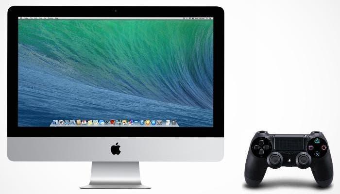 Jugar con mando de Play 4 en Mac