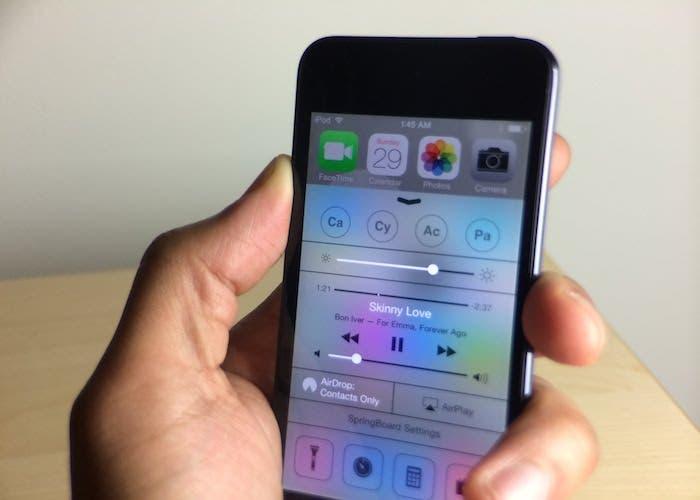 iPod con FlipLauch
