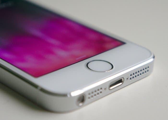 Fondo rosa en iPhone 5S